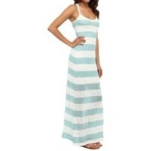 Tart stripe maxi dress